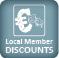 Lokale Ermäßigungen für Mitglieder!
