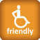 Rollstuhlgerechte Zimmer vorhanden