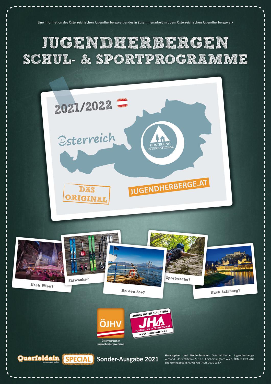 Katalog Schulprogramme Jugendherbergen in Österreich